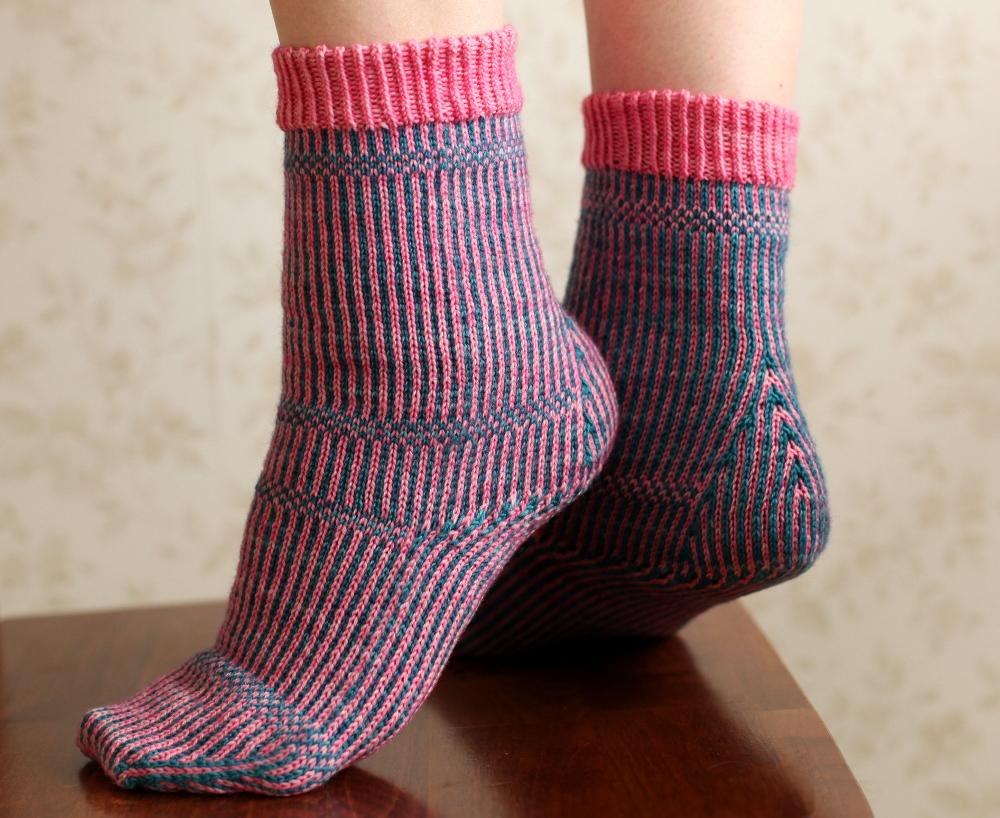 Miriam socks, side