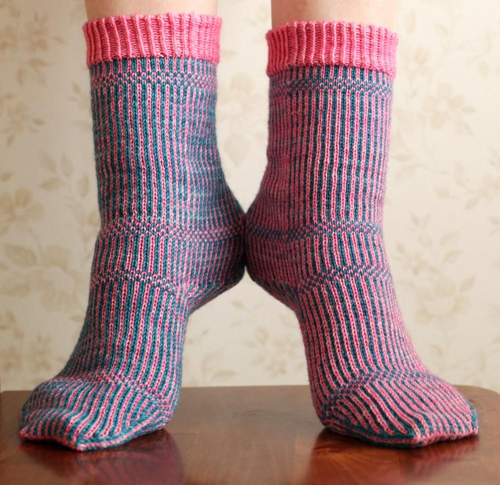 Miriam socks, front