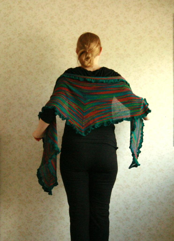 Crayon Play shawl