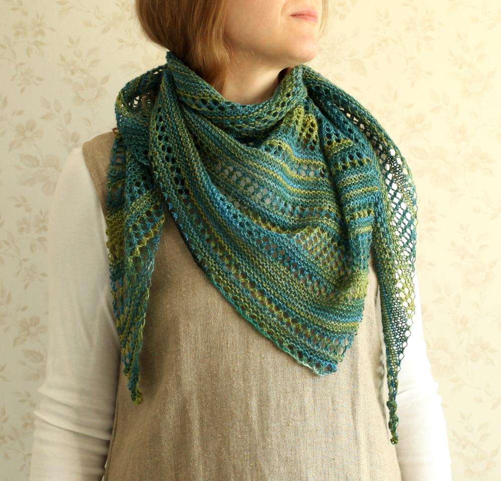 Åsne shawl